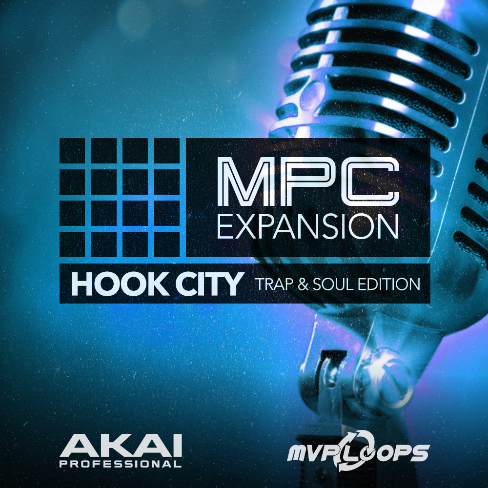 Akai Professional MPC Expansion Hook City: Trap & Sound Edition